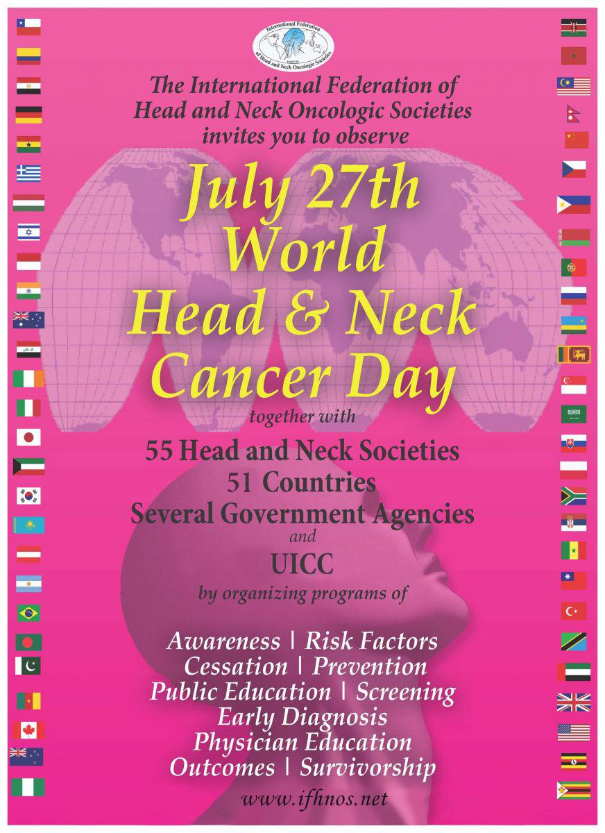Photo of 27 Temmuz Baş Boyun Kanseri Günü