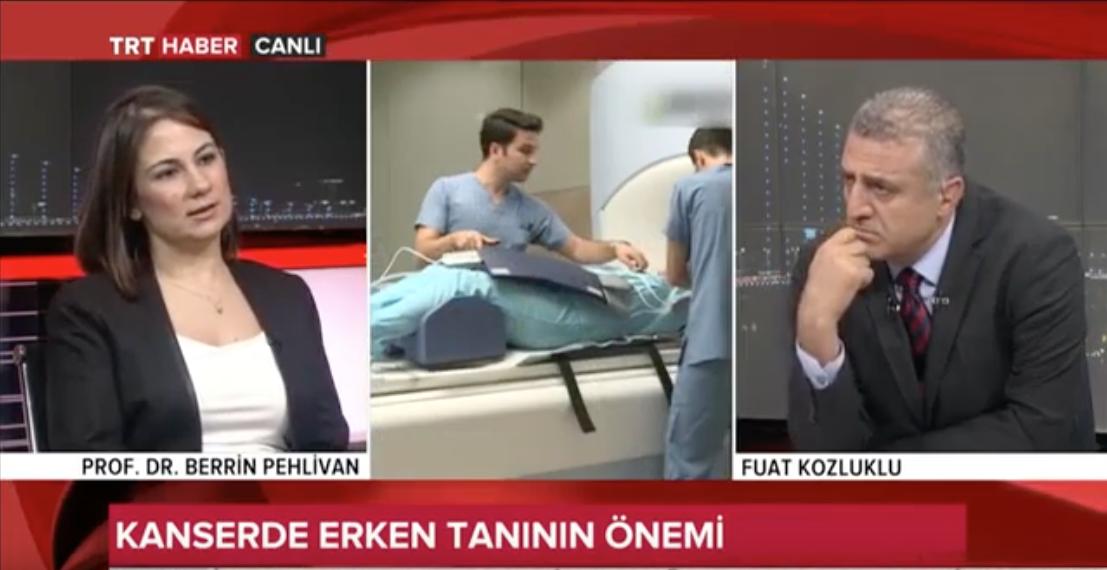 ObR0lYjBn5k - BAU Öğr. Prof. Doktor Berrin Pehlivan TRT Haber'de Kanser Haftası için Konuşuyor
